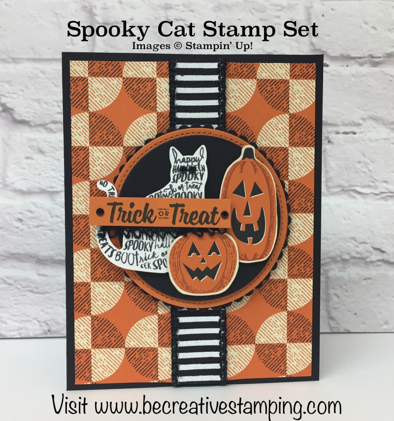 Spooky Cat Stamp Set