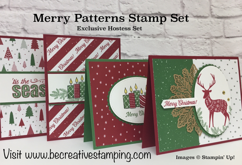 Merry Patterns Stamp Set