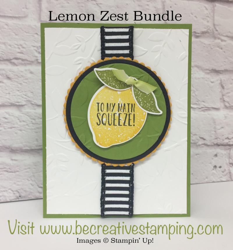 Lemon Zest OnStage Swap