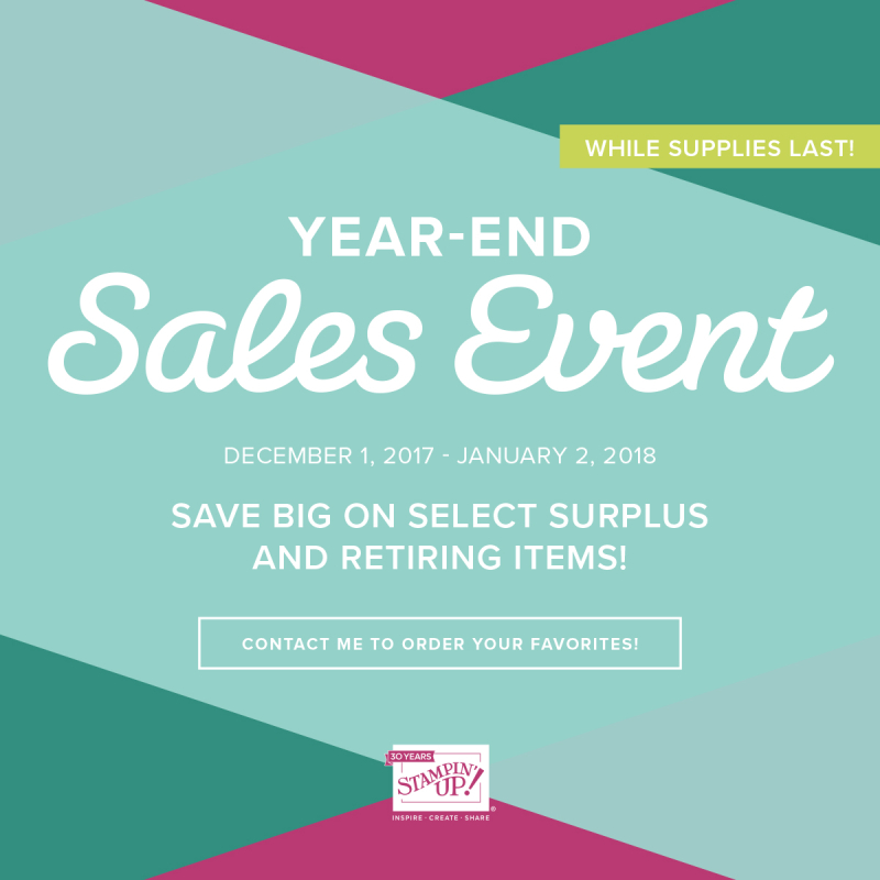 2017 Year End Sales Event Image