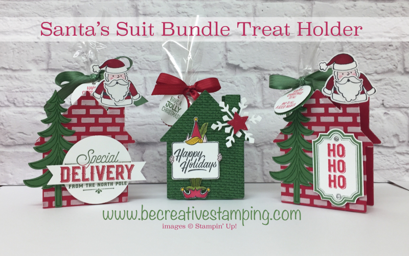 Santa's Suite Bundle Treat Holder