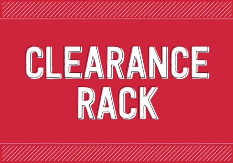 Clearance Rack Refresh!