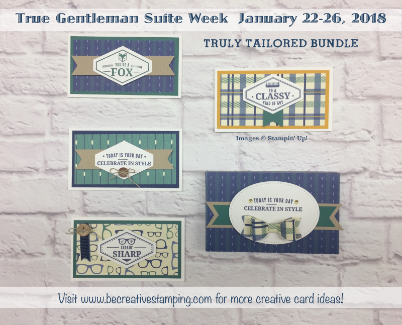 True Gentleman Suite Week Lots to Love Box and NoteCards