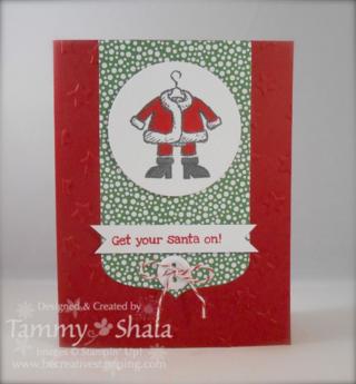 Get Your Santa On Stamp Set