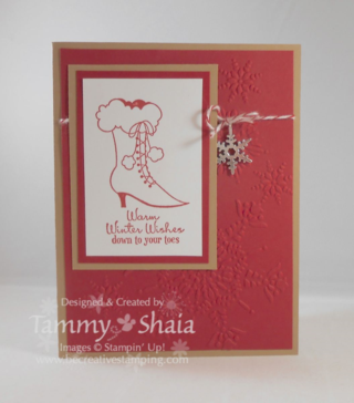 Bootiful Occasions Card