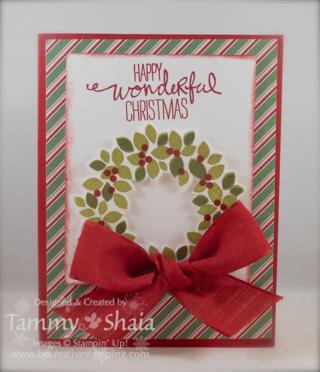 Wondrous Wreath Stamp Set