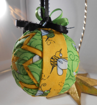 Bee ornament #1