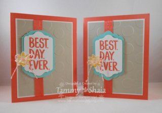 Best Day Ever Stamp Set (2 cards)