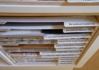 Stamp N Storage Paper Holder 2