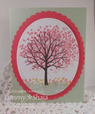 Sheltering Tree Card