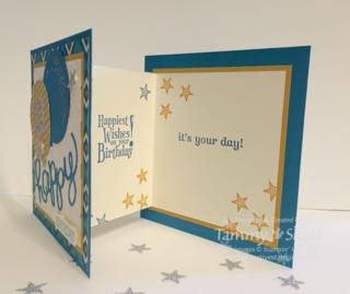 Bohemian DP Birthday Card 2