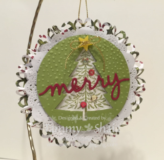 Peaceful Pines Ornament