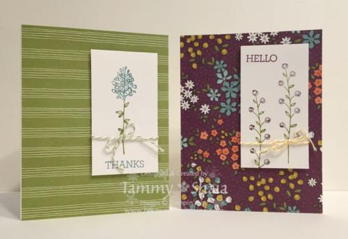 Flowering Fields Card 2