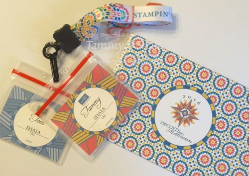 Stampin' Up! Incentive Trip Documents 3