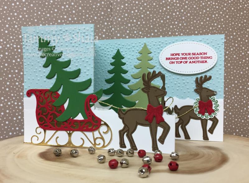 Santa's Sleigh Z Card 1