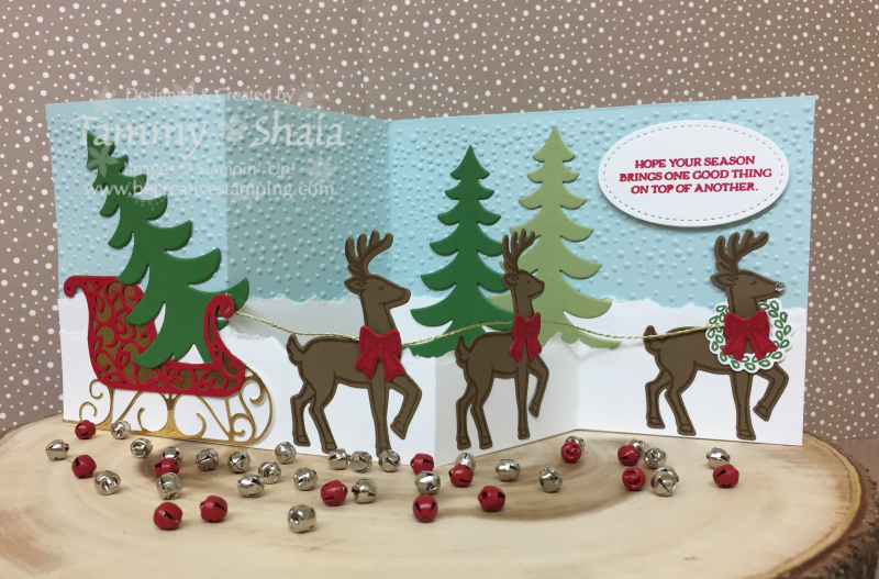 Santa's Sleigh Z Card 3jpg