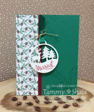 Merriest Wishes Stamp Set & Merry Tags Framelits