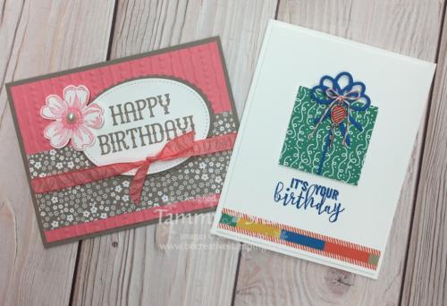 Stamp Camp Birthday Cards