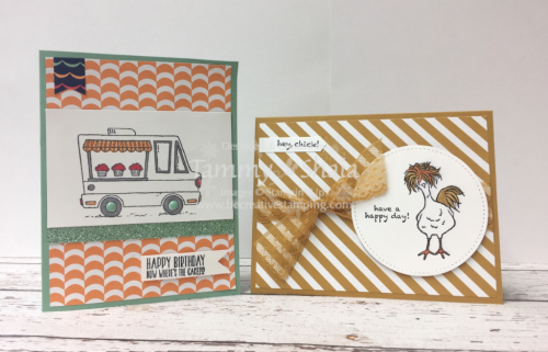 Tasty Trucks and Hey Chick Stamp Sets