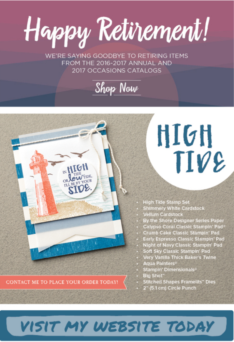 High Tide Stamp Set