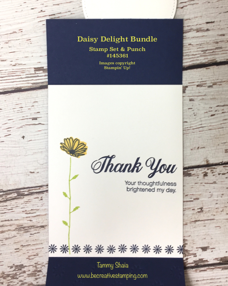 Daisy Delight Stamp Set (inside)