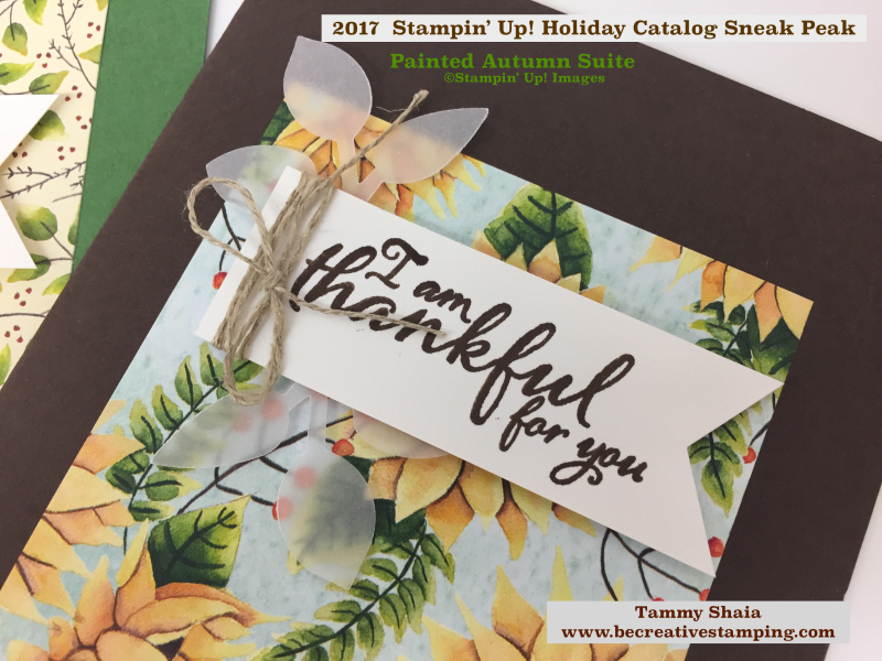 Painted Autumn by Stampin' Up! 4