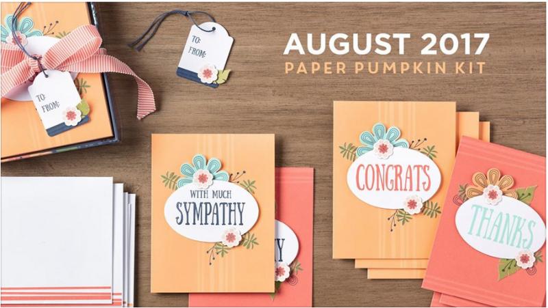 Paper Pumpkin August 2017