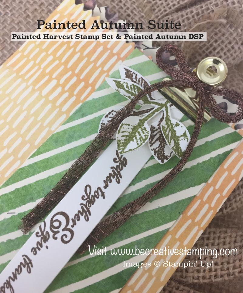 Painted Harvest Stamp Set Mini Treat Bag 2