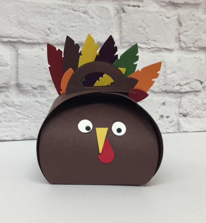 Turkey Curvy Keepsake Box