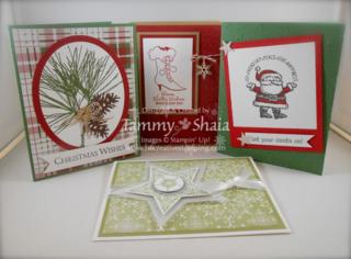 Christmas Stamp Camp 2014