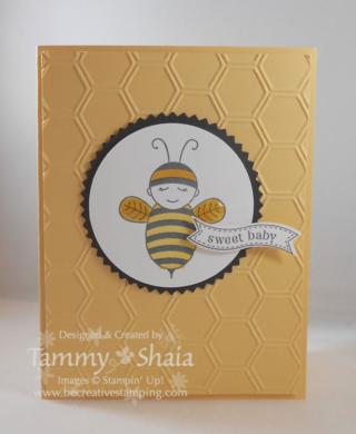 Baby Bumblebee Stamp Set