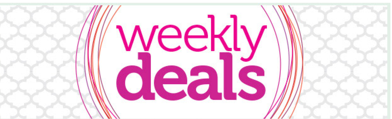Weekly Deals graphic