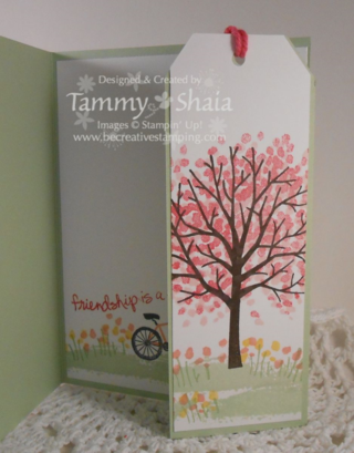 Sheltering Tree card:bookmark