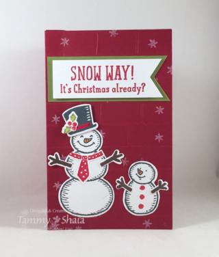 Snow Place Pop-Up Card