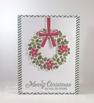 Wonderful Wreath Card