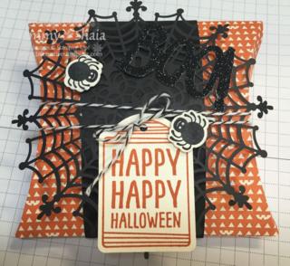 Halloween Square Pillow Box