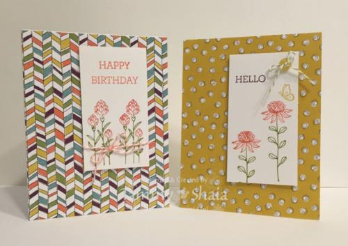 Flowering Fields Card 1