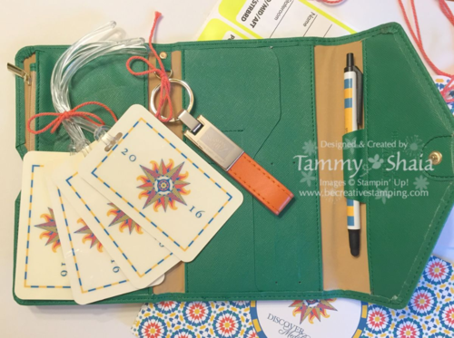 Stampin' Up! Incentive Trip Documents 2