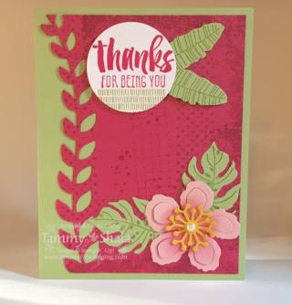Botanical Blooms Stamp Set 3