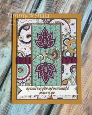 Paisleys & Posies Stamp Set
