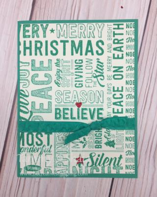 Merry Medley Stamp Set