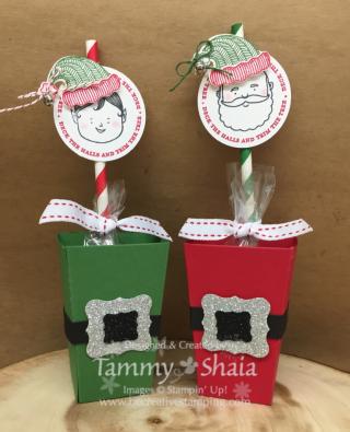 Jolly Friends Popcorn Boxes