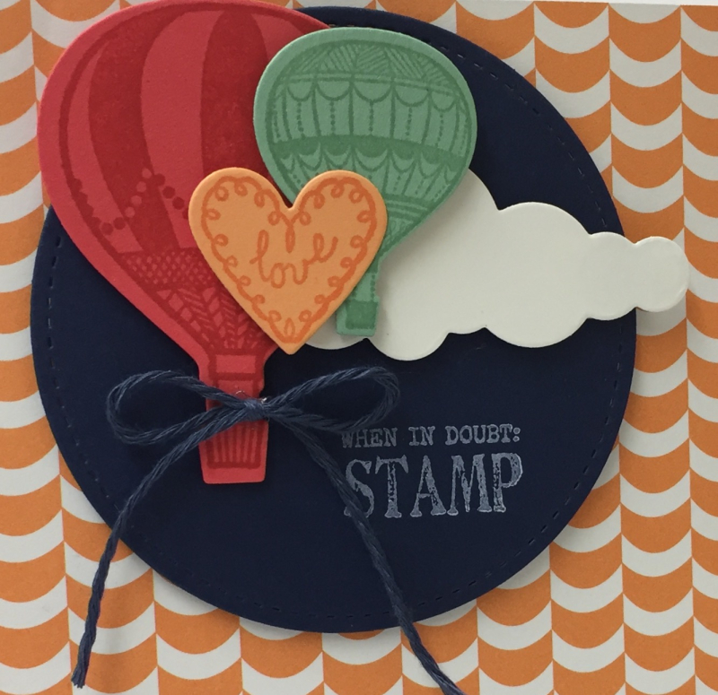 Lift Me Up Stamp Set Sneak Peak 2
