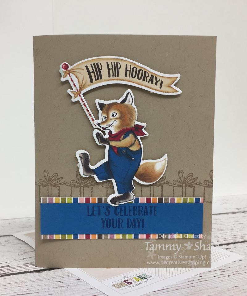 Birthday Delivery Stamp Set