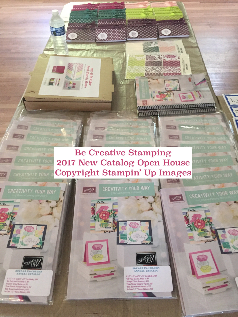 Stampin' Up! New Catalog Open House 1 1