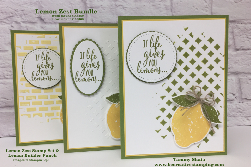 Lemon Zest Bundle 1