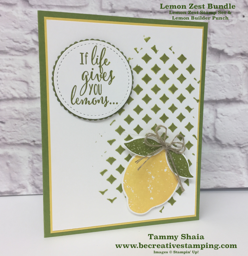 Lemon Zest Bundle 6