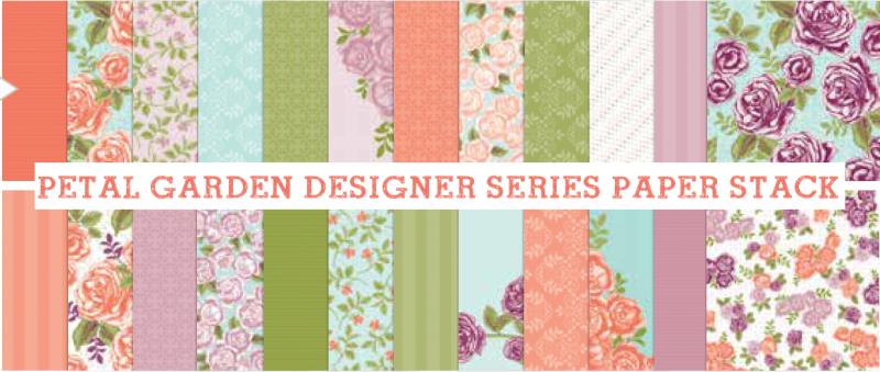 Petal Garden Designer Paper Stack