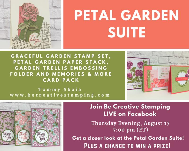 Petal Garden Suite FB LIVE