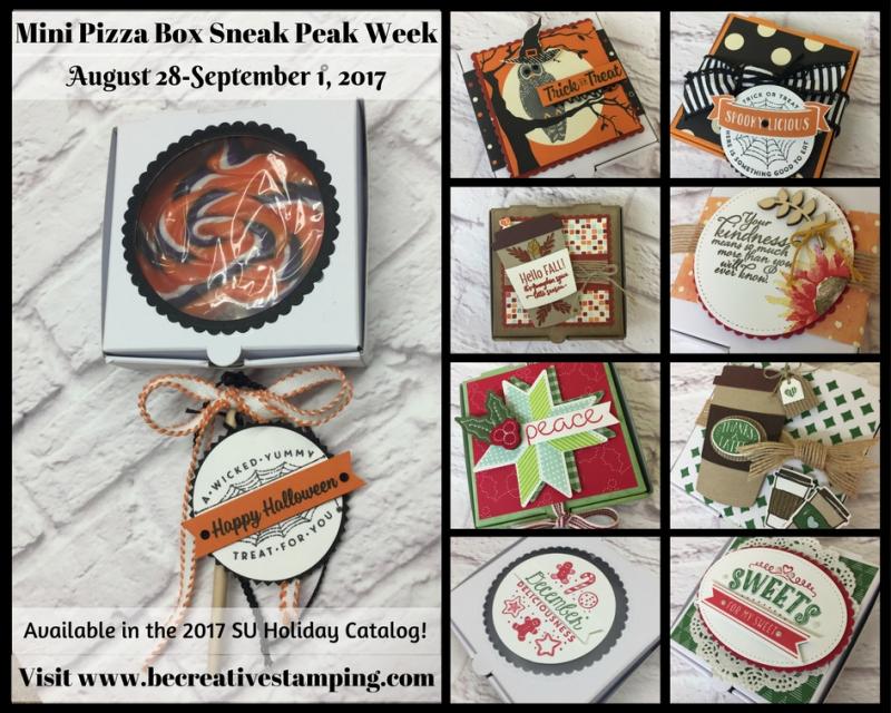 Mini Pizza Box Sneak Peak Week